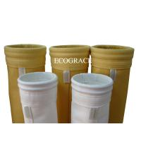 Food Grade Nomex Dust Collector Filter Bags , Polyester Needle Felt Filter Bag Manufactures