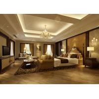 China Modern Contemporary Furniture , Elegant Modern Bedroom Suites With Living Room on sale