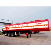 China CIMC great material optial  fuel tank trailer road tanker for sale on sale