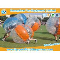 Soccer Game Bumper Wearable Inflatable Ball Environment Friendly Bubble Footy For Adults Manufactures