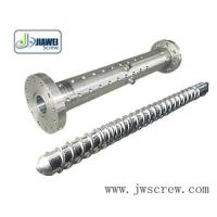 China plastic extruder screw and barrel on sale