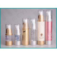 China 15ml 30ml 50ml AS Airless Lotion Pump Bottles Easy Open For Cosmetics on sale