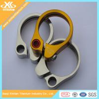 Pure Titanium And Titanium Alloy Seatpost Clamps From China Supplier Manufactures