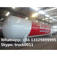 Chinese famous brand  high quality 120cbm LPG storage tanker for sale, best price CLW brand surface lpg gas storage tank Manufactures