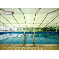 China Temporary structure tent for sports event, swimming pool shade tent with good quality, Swimming pool tent on sale