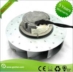 similar EC Motor Fan Blower , Backward Curved Centrifugal Duct Fan Manufactures