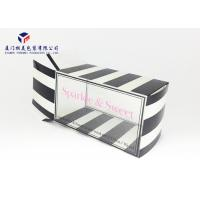 Rectangle Shape Clear Front Window Custom Printed Clear PET Box 17.5*9.5*10cm Manufactures