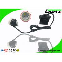 Long Lighting Time Hard Hat LED Mining Light 6.6Ah Li - Ion Battery ABS Material Manufactures