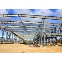 Prefab Steel Frame Structure Workshop Construction With Office Buildings Manufactures