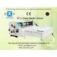 Four Knives Slotting Carton Box Printing Machine Emergent With Clutch Manufactures