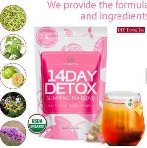 Wholesale Natural Chinese Private Label Herbal Weight Loss Tea Skinny Slim Tea Fit Slimming Tea Manufactures