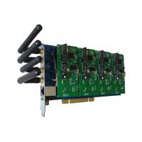 GSM400P Asterisk Card with 4 GSM Modules for Mobile IP PBX Manufactures