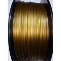 PEL High Temp 3D Printer Filament 3.0 Mm 1.75 Mm Gold Color For Medical Equipment Manufactures