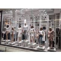 Whole Clothing Store Display Fixtures With Display Stands , Racks , Mannequins Manufactures