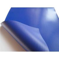 Smooth UV Treated PVC Tarpaulin Fabric Quick Drying Anti - Frost For Pallet Cover Manufactures