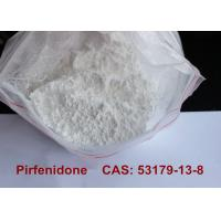 Pirfenidone Pharmaceutical Raw Materials , Anti Inflammatory Powder Supplements  Manufactures