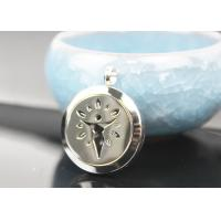 Stainless Steel Essential Oil Jewelry Diffuser Necklace Locket Pendant Manufactures