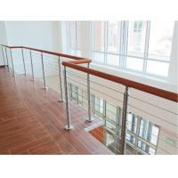 Building railing design 6 mm inox cable infill for wire cable balustrade Manufactures