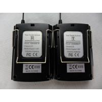 Quality Black Color Audio Guide Device Transmitter / Receiver For Simultaneous Interpretation for sale