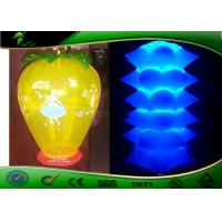 China PVC Inflatable Lighting Decoration 2mH Fruit Shape Inflatable LED Balloon on sale