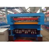 380V IBR Sheet Metal Roofing Machine PPGI Material Single / Double Layer Machine Manufactures