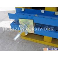 Galvanized Formwork Tie Rod System With Dywidag Thread , Wing Nut and Steel Cones Manufactures