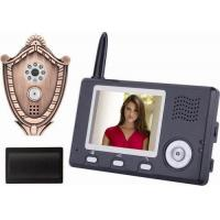 Fashion Cheap Wirless Video Doorphone with Peep Hole Viewer Manufactures