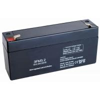 China Public fire safety FM battery, 6v 3.2ah Emergency Lighting Battery Replacement on sale