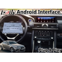 China Lsailt Android Car Video Interface for 2017-2020 Lexus IS 300h Mouse Control, GPS Navigation Box for IS300h on sale