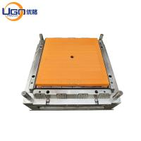 China Square Table Plastic Injection Mould Rattan Table With Leg 2 Cavity Cold Runner on sale