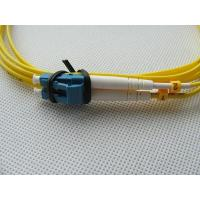 China Single Mode LC Duplex Optical Fiber Patch Cord LC-LC patch cable supplier on sale
