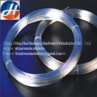 galvanized iron wire in low price and good quality Manufactures