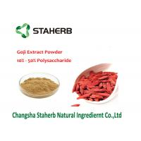 Quality Natural Barbary Male Enhancement Powder , Gojiberry Wolfberry Fruit Extract for sale