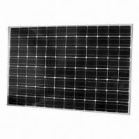 Monocrystalline Solar Panel Module with 250W Maximum Power, Measures 1,580 x 1065 x 50mm Manufactures