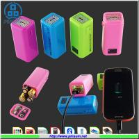 China AA battery Power bank portable charger for emergency use on sale
