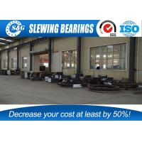 Industrial Crane Three Row Roller Slewing Bearing Gear Heat Treatment Manufactures