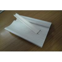 Prefab Houses Kitchen PVC Skirting Board For Walls Maintenance Free Manufactures