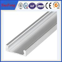 extruded aluminum profiles fatory supply hot sale led aluminum extrusion Manufactures