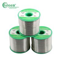 Sn40 / Pb60 Lead Soldering Wire Material , 1kg Per Roll Silver Bearing Solder Manufactures
