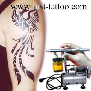 China Airbrush Tattoo (Un-Ts-Mn101) on sale