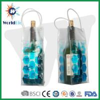 Gel wine cooler plastic bag with SGS MSDS Manufactures