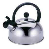 Silver Color Stainless Steel Tea Kettle / 3.0L To 7L Whistling Teapots Kettles Manufactures