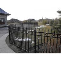 High quality galvanized powder coated garrison fencing Manufactures