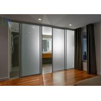 Bullet Proof Security Aluminium Sliding Doors Powder Coated ISO 9001 Certificate Manufactures