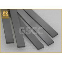China Shock Resistance Tungsten Flat Bar / Gray Tungsten Carbide Products on sale