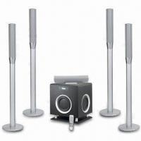 5.1CH Wireless Home Theater System with 2.4GHz Digital Wireless Surround Speaker Manufactures