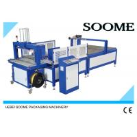 Fully Automatic Carton Box Strapping Machine / PP Belt Manual Pallet Strapping Machine Manufactures