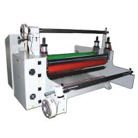 adhesive tape/ protective film paper hot roll laminating machine Manufactures