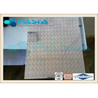 Anti skidding Lifter usage honeycomb stainless steel sheet  Diamond Tread Plate Pattern Manufactures