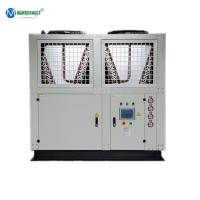 China Easy Install Sulfuric Acid Cooling Plant 180kw 50 Ton Air Cooled Chiller Price on sale